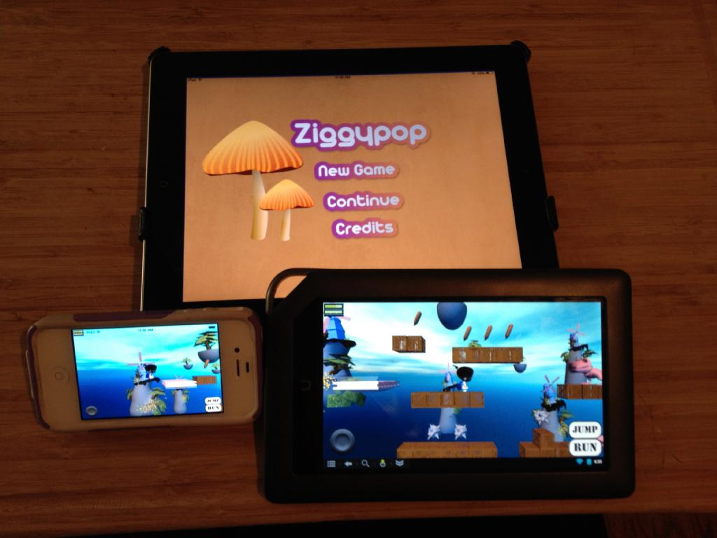 Ziggypop Adventure game (web)