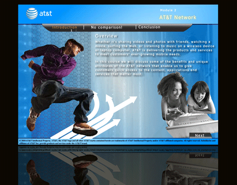 AT&T Network Courseware
